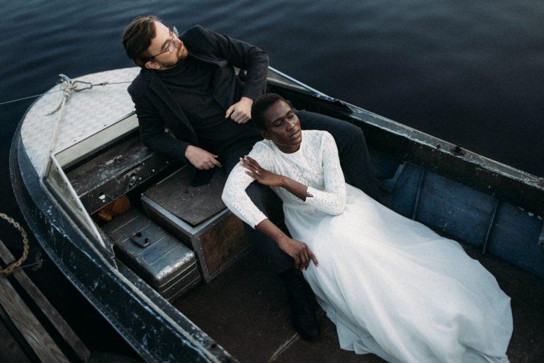 Bride Groom Boat