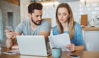young couple divorce finances